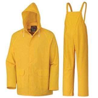 Pioneer 577 Supported PVC 3-Piece Rain Suit