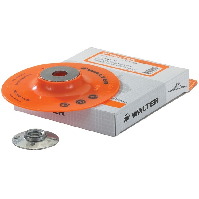 "Walter 15D035 4"" Backing Pad Assembly"