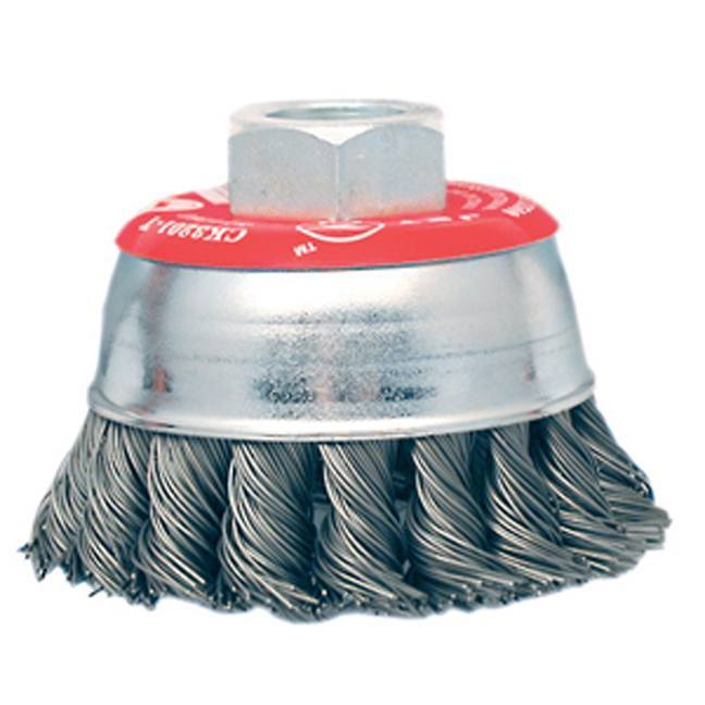 Jet 554201 3 x 10mm Knot Twisted Cup Brush