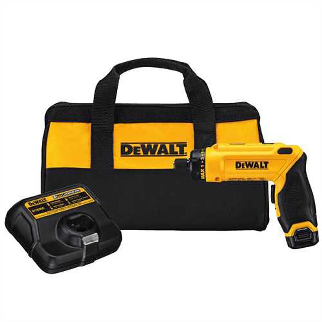 DeWalt DCF680N1 8V MAX Gyroscopic Screwdriver Kit