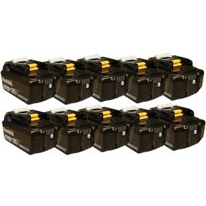 Makita 196401-9BX 18V 4.0 Ah Battery BL1840B - 10 Pack