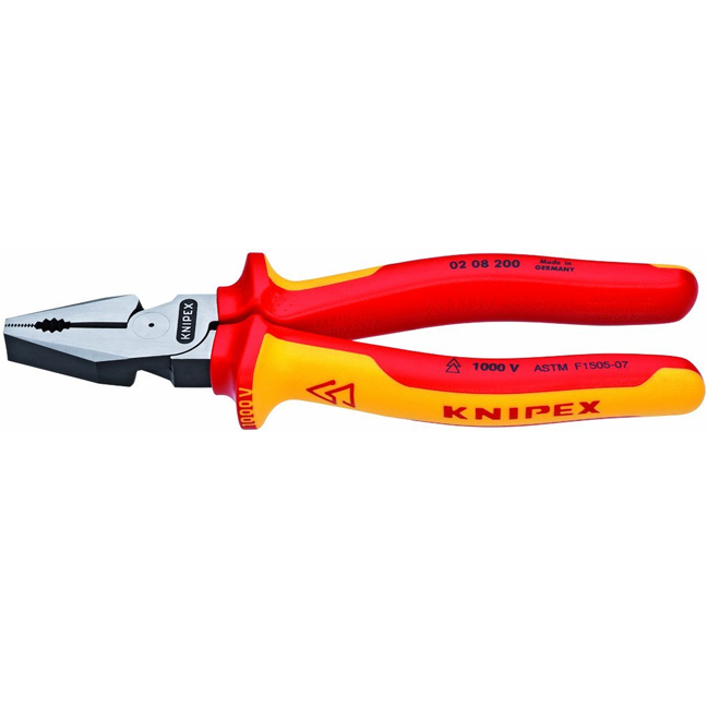 "Knipex 0208200US 8"" High Leverage Combination Pliers"