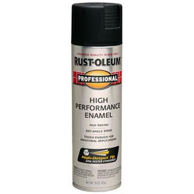 Rust-Oleum 239107 Professional Spray Paint - Semi-Gloss Black