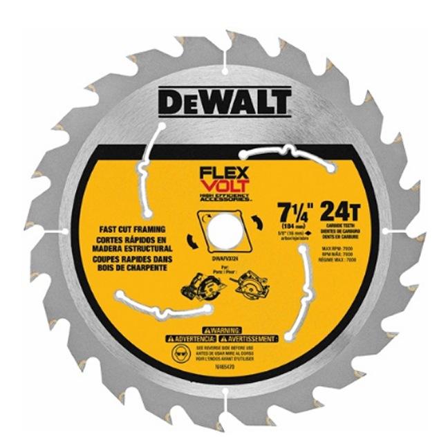 DeWalt FlexVolt Circular Saw Blade