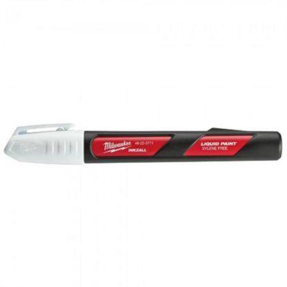 Milwaukee 48-22-3711 INKZALL White Paint Marker - 12pk