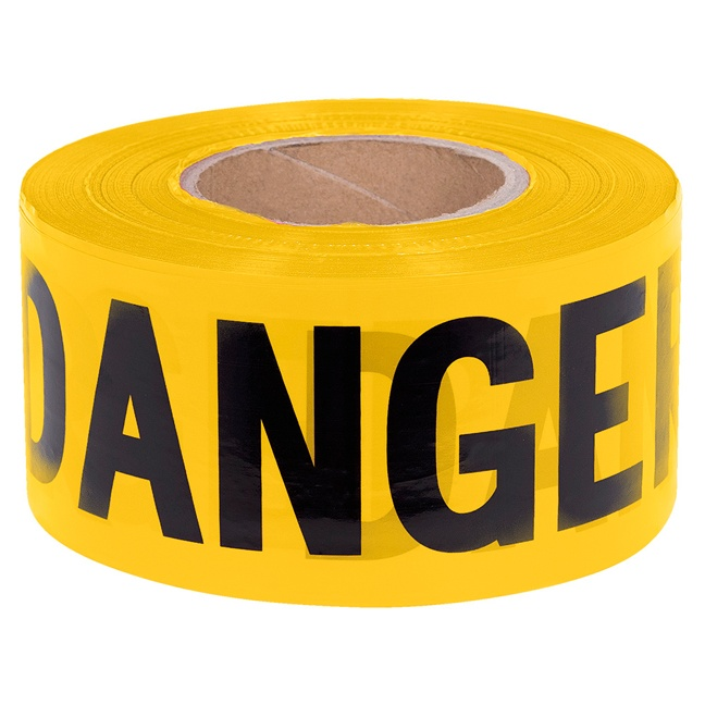 Pioneer 384 Danger Tape