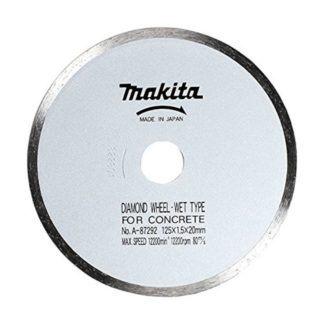 "Makita A-90934 5"" Diamond Wet Cutting Continuous Saw Blade"
