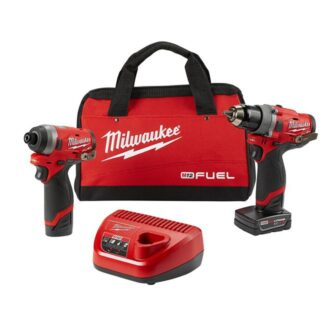 Milwaukee 2596-22 M12 FUEL Drill and Impact Driver Combo Kit