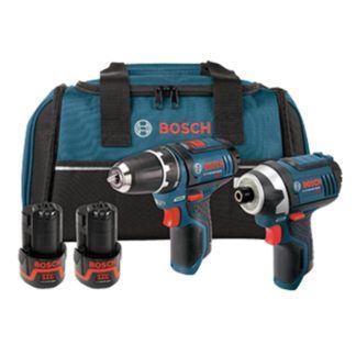 Bosch CLPK22-120 12V 2-tool Combo Kit