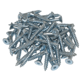 #14 Flat Head Wood Screw Zinc Plated