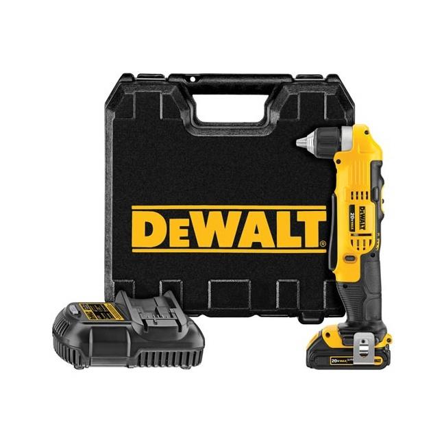 Dewalt DCD740C1 Right Angle Drill Kit
