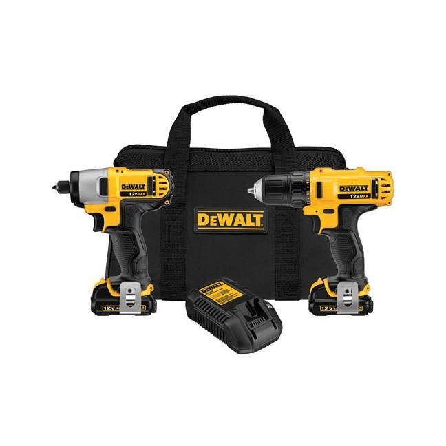 Dewalt DCK211S2 12V Drill / Driver Combo Kit
