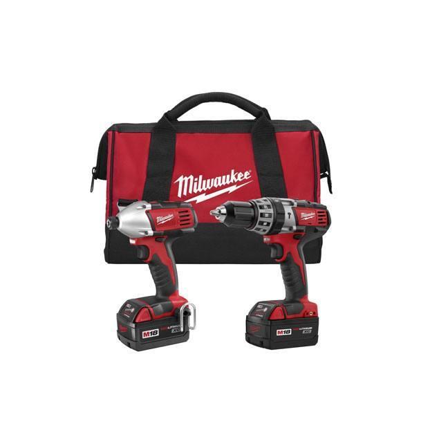 Milwaukee 2697-22 M18 Cordless 2 Tool Combo kit