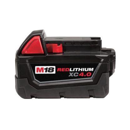 Milwaukee 48-11-1840 M18 Redlithium XC 4.0 Battery Pack