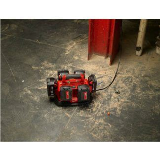 Milwaukee 48-59-1806 M18 Six Pack Sequential Charger In Use 2