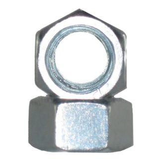 Hex Nuts Zinc Metric