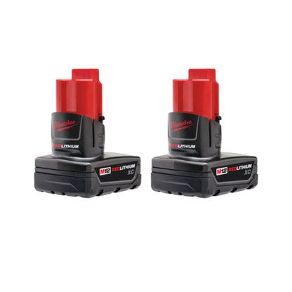 Milwaukee 48-11-2412 M12 REDLITHIUM XC Battery 2 Pack