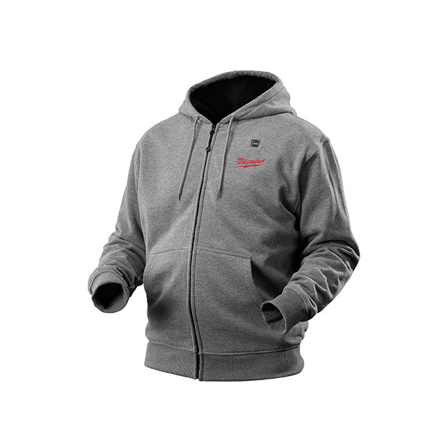 Milwaukee 2373 M12 Cordless Gray Heated Hoodie Kit