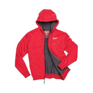 Milwaukee M12 Heated Hoodie Open front