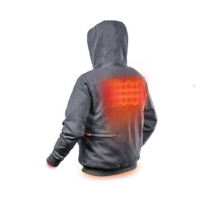 Milwaukee M12 Heated Hoodie illustration back