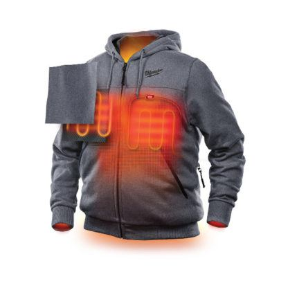Milwaukee M12 Heated Hoodie illustration front