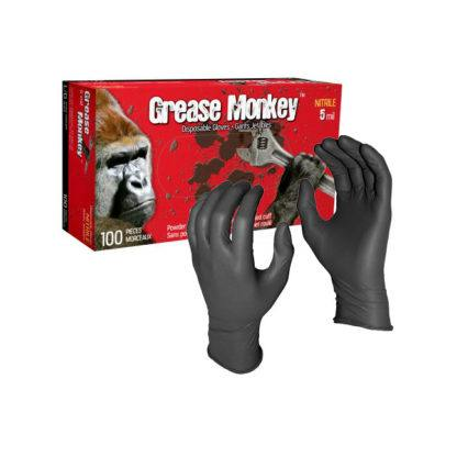 Watson Gloves Grease Monkey 5554PF 5mil Nitrile