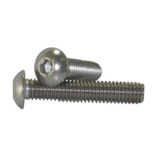 #10 - 24 Button Head Socket Cap Screws Stainless Steel