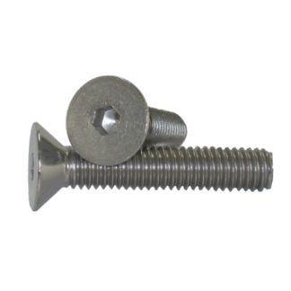 "1/4"" - 20 Flat Head Socket Cap Screw Stainless Steel"