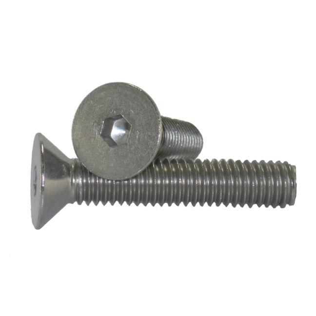 14 20 Flat Head Socket Cap Screws Stainless Steel Bc Fasteners