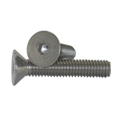 #6 - 32 Flat Head Socket Cap Screw Stainless Steel