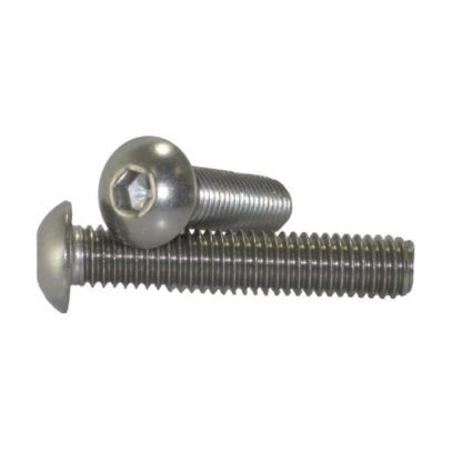 #8 - 32 Button Head Socket Cap Screws Stainless Steel