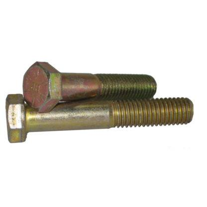 "Hex Bolts Grade 8 Yellow Zinc 7/16"" - 14 NC"