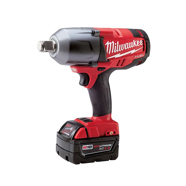 """Milwaukee 2764-22 Cordless 3/4"""" Impact Wrench Kit"""
