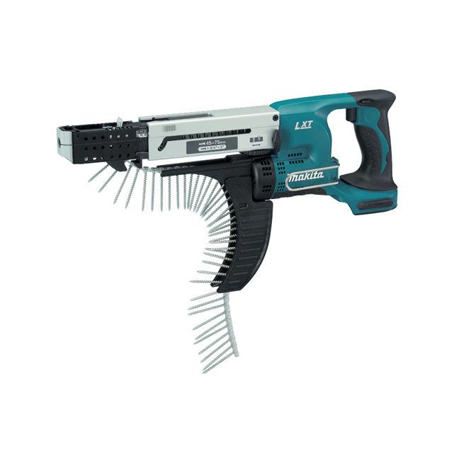 "Makita DFR750Z 1/4"" Cordless Autofeed Screwdriver"