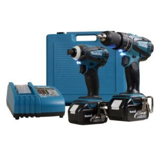 Makita LXT211 18V 2 Piece Cordless Combo Kit