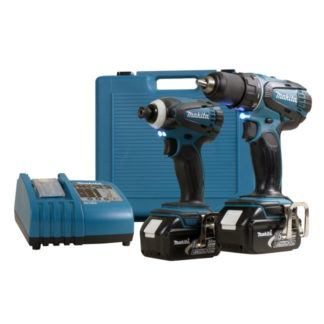 Makita LXT220 18V Cordless 2 Piece Combo Kit