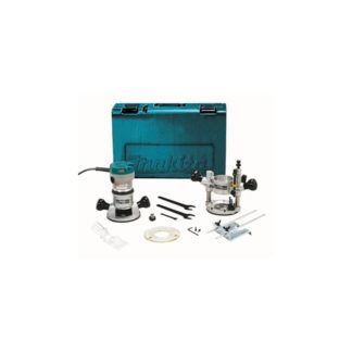 "Makita RF1101KIT Router 1/2"" 2-1/4 H.P."