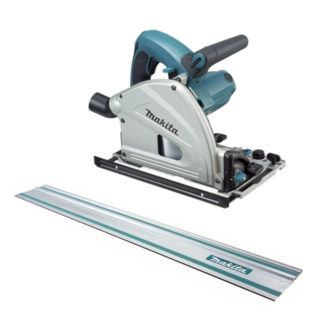 "Makita SP6000X1 Plunge Cut Circular Saw with 55"" Guide Rule"