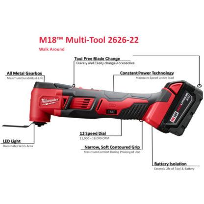 Milwaukee M18 Multi-Tool