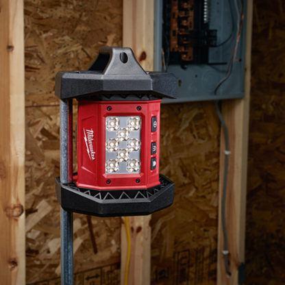 Milwaukee 2361-20 M18 LED Flood Light Mounted