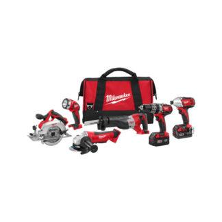 Milwaukee 2696-26 M18 6 Tool Combo Kit