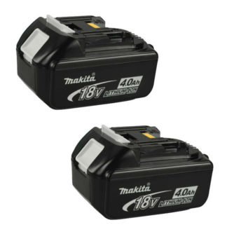 Makita BL1840 2 Pack 18V 4.0Ah Li-Ion Battery 196041-9