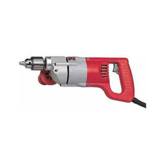 "Milwaukee 1001-1 1/2"" D-Handle Drill 0-600 RPM"