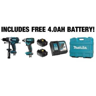 Makita DLX2005M Drill & Impact 18V Combo Kit