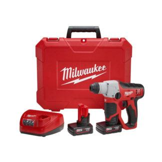 "Milwaukee 2412-22XC M12 1/2"" SDS Rotary Hammer Kit"