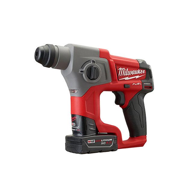 "Milwaukee 2416-22XC M12 Fuel 5/8"" SDS Plus Rotary Hammer Kit"