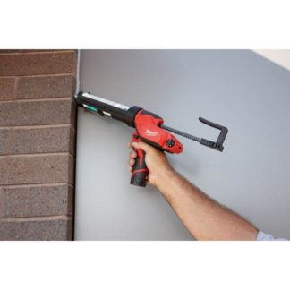 Milwaukee 2441-20 M12 Caulk and Adhesive Gun In Use