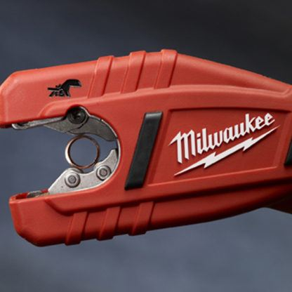 Milwaukee 2471-20 M12 Copper Tubing Cutter After Use