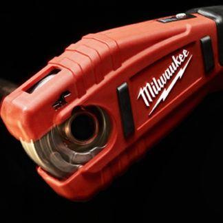 Milwaukee 2471-20 M12 Copper Tubing Cutter Close Up