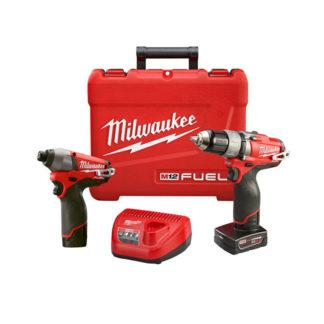 Milwaukee 2594-22 2-Tool M12 Fuel Combo Kit